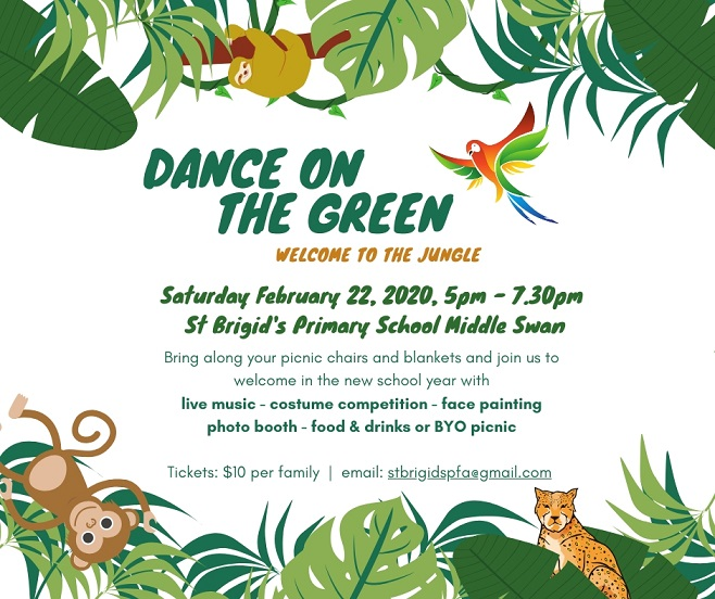 Dance on the green 2020