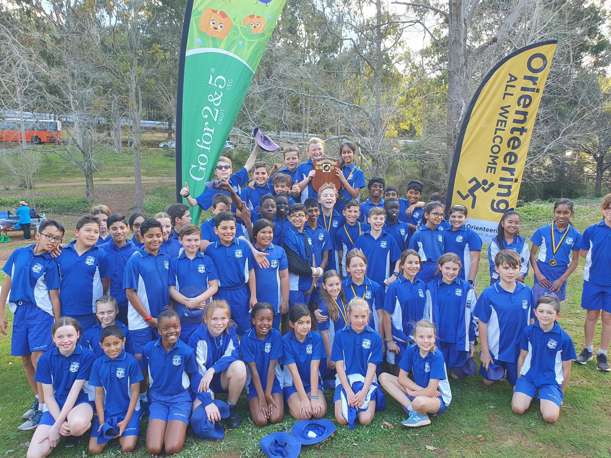 Orienteering Junior State Champions 2021